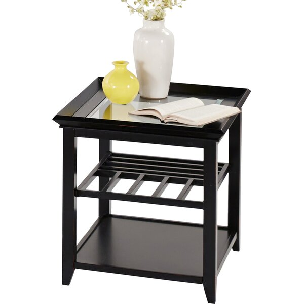 Lyndonville End Table by Breakwater Bay
