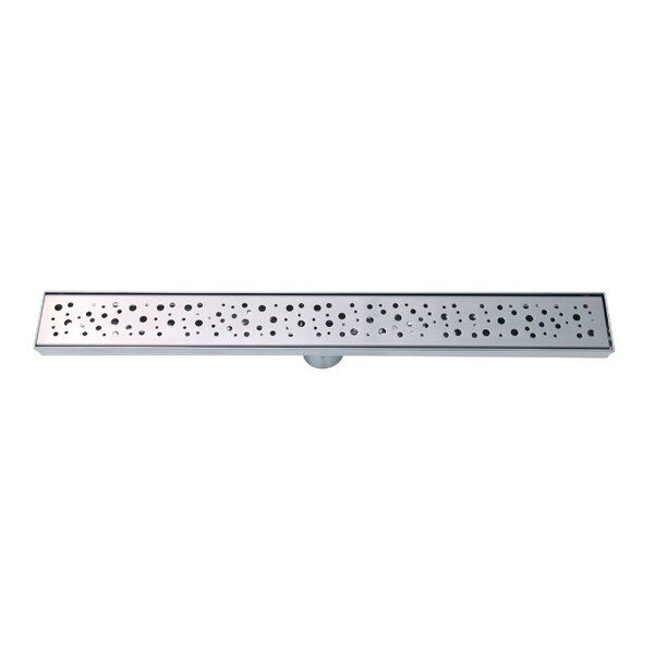 Stainless Steel 2 Grid Shower Drain by Boann