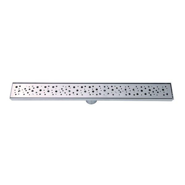 Stainless Steel 2 Grid Shower Drain by Boann