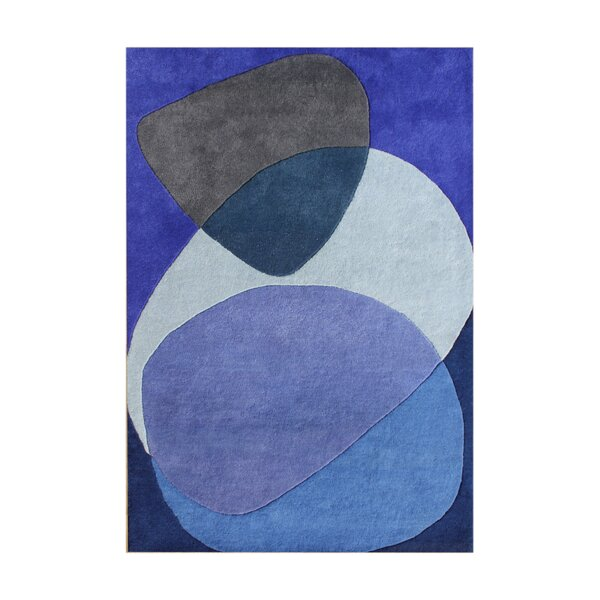 Alliyah Dazzling Blue Area Rug by James Bond