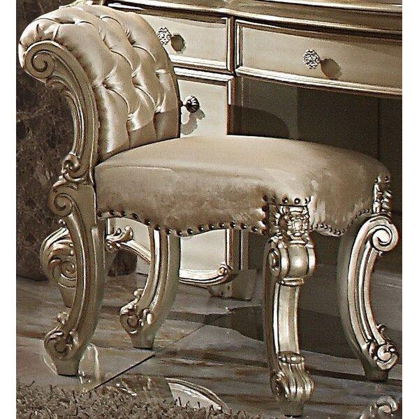Waloo Vanity Stool by Astoria Grand