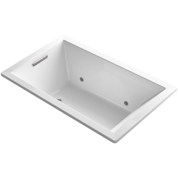 Underscore 60 x 36 Air Bathtub by Kohler