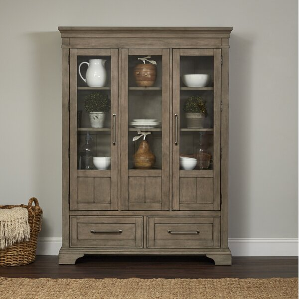 Trisha Yearwood Home Universal Lighted China Cabinet by Trisha Yearwood Home Collection