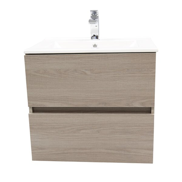 Loftis 25 Wall Mounted Single Bathroom Vanity by Ivy Bronx