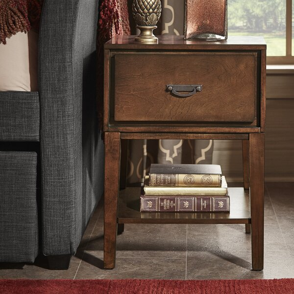 Richboro 1 Drawer Nightstand by Three Posts
