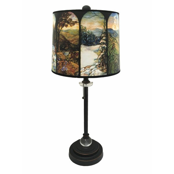 Newby Crystal 28 Buffet Lamp by Loon Peak
