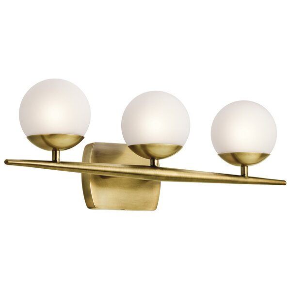 Worth 3-Light Vanity Light by Corrigan Studio