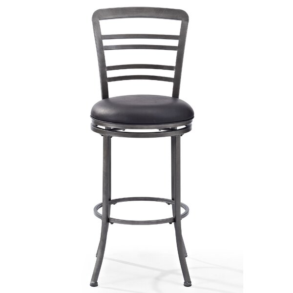 Femke 44.5 Swivel Bar Stool by 17 Stories