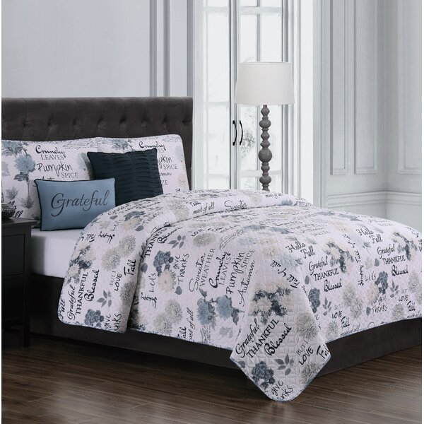 Solley 5 Piece Reversible Quilt Set By Winston Porter.