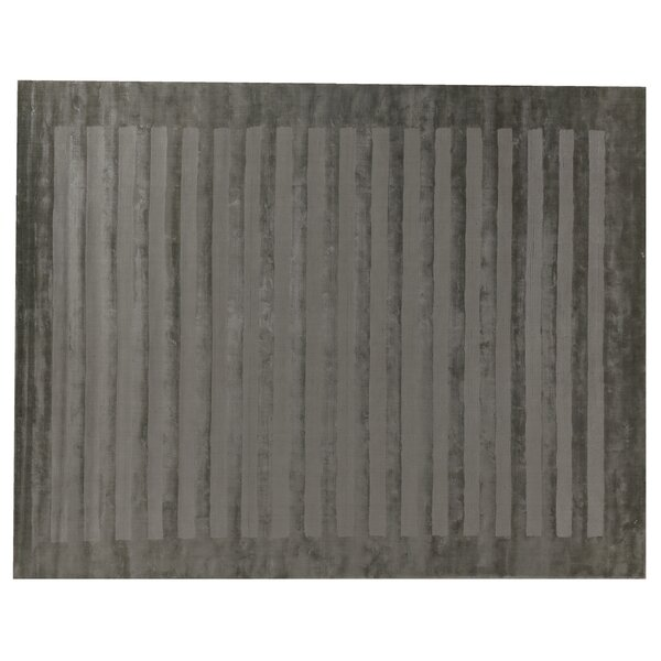 Hand-Woven Gray Area Rug by Exquisite Rugs