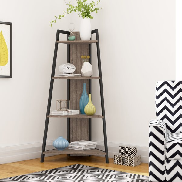 Cottrell Corner Unit Bookcase by Wrought Studio