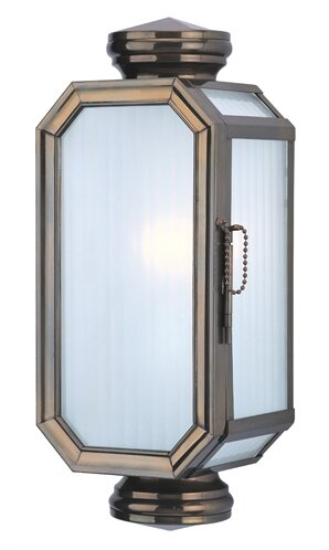 Natoma 1-Light Outdoor Flush Mount by Darby Home Co