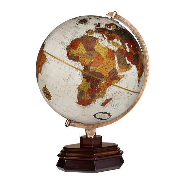 Frank Lloyd Wright Usonian Globe by Replogle Globes