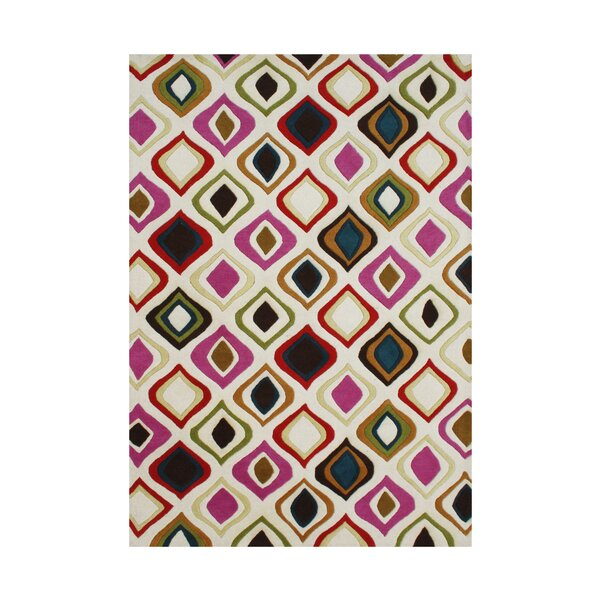 Kerner Hand Tufted Wool Area Rug by Brayden Studio