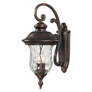 Bargain Anna 3-Light Outdoor Wall Lantern By Fleur De Lis Living