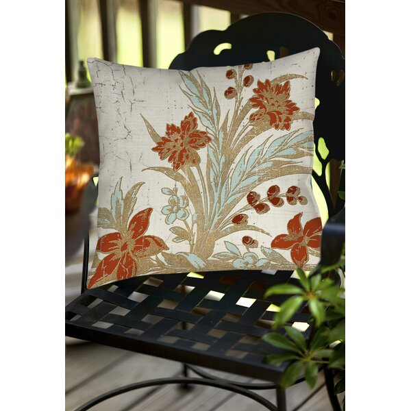 Scullin Outdoor Throw Pillow by Red Barrel Studio
