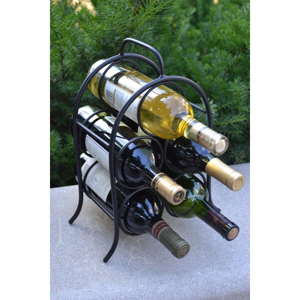 Leeland 5 Bottle Tabletop Wine Rack by Winston Porter