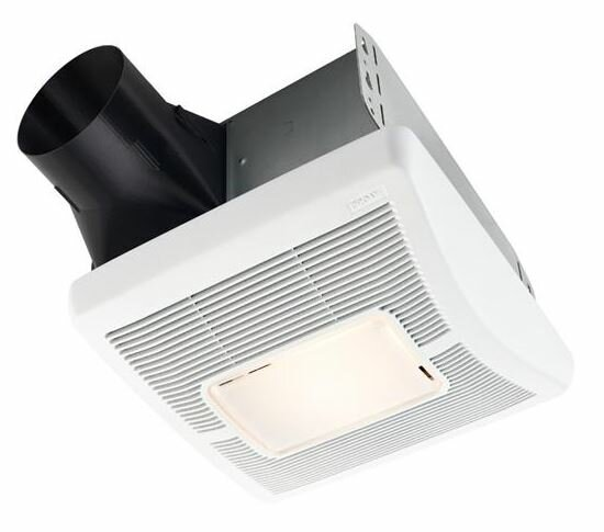 InVent Single-Speed 70 CFM Bathroom Fan with Light by Broan