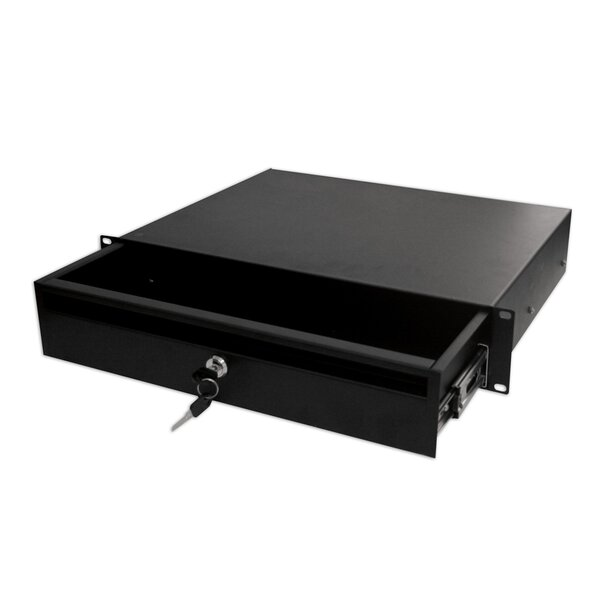 Locking Storage Drawer Shelf by Quest Manufacturin