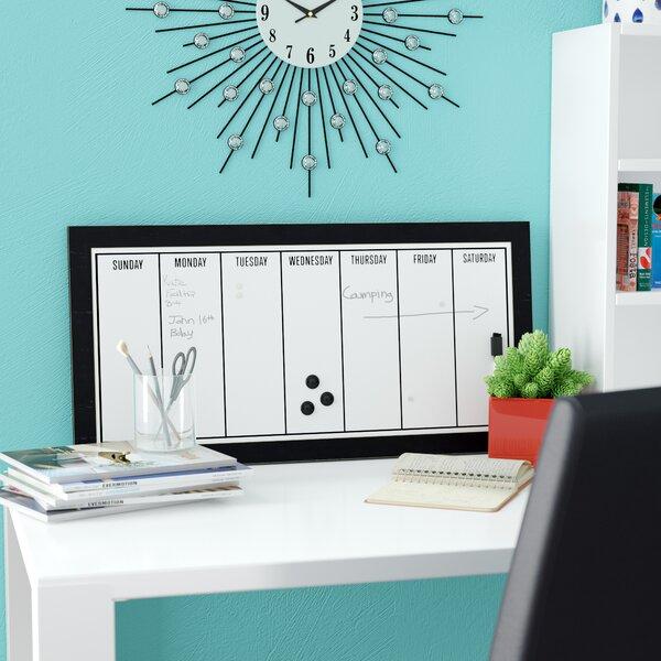 Weekly Calendar Magnetic Dry Erase Board by Latitude Run