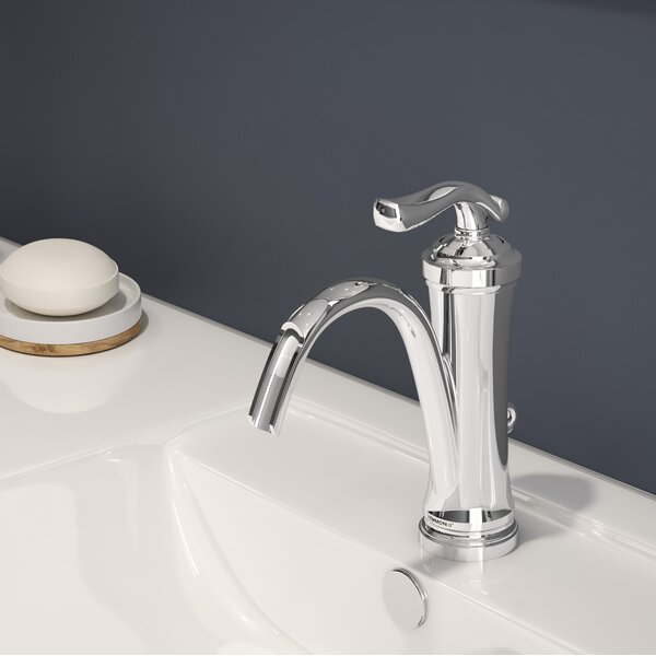 Winslet Single Hole Bathroom Faucet with Drain Assembly