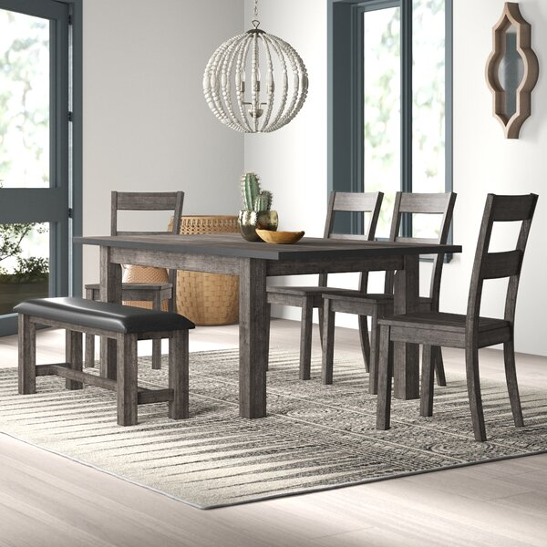 Katarina 6 Piece Dining Set by Mistana