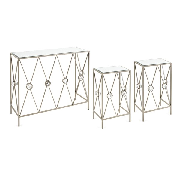 House Of Hampton Glass Console Tables