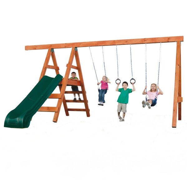 DIY Pioneer Deluxe Swing Set Hardware (Wood Not Included) by Swing-n-Slide
