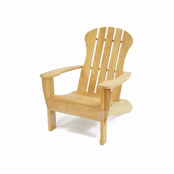 Barnhardt Teak Adirondack Chair by Darby Home Co Darby Home Co