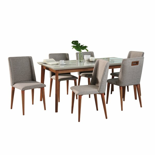Tedeschi 7 Piece Dining Set by Union Rustic