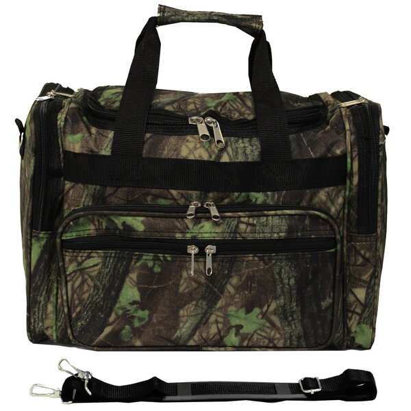 Camouflage 16 Shoulder Duffel by World Traveler