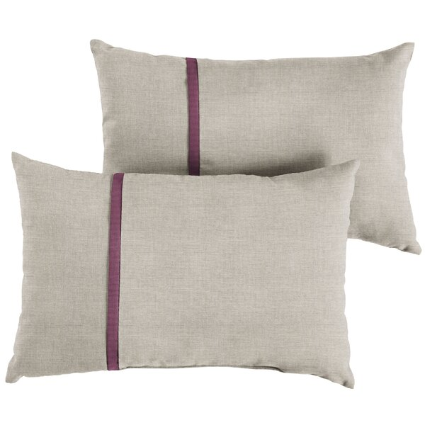Couture Indoor/Outdoor Lumbar Pillow (Set of 2) by 17 Stories