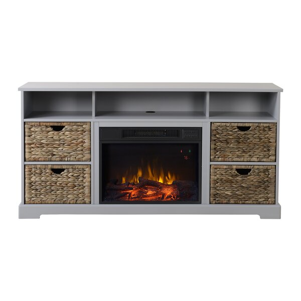 Anniston Media Electric Fireplace TV Stand by Homestar
