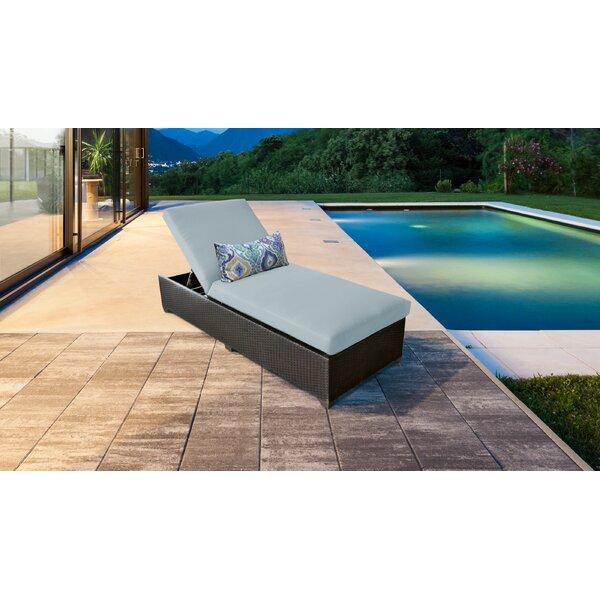 Tegan Chaise Lounge with Cushion
