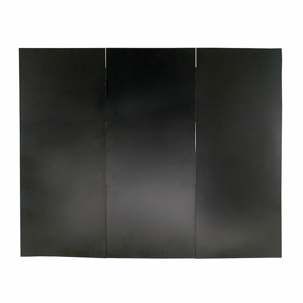 Dedmon 3 Panel Iron Fireplace Screen By Symple Stuff