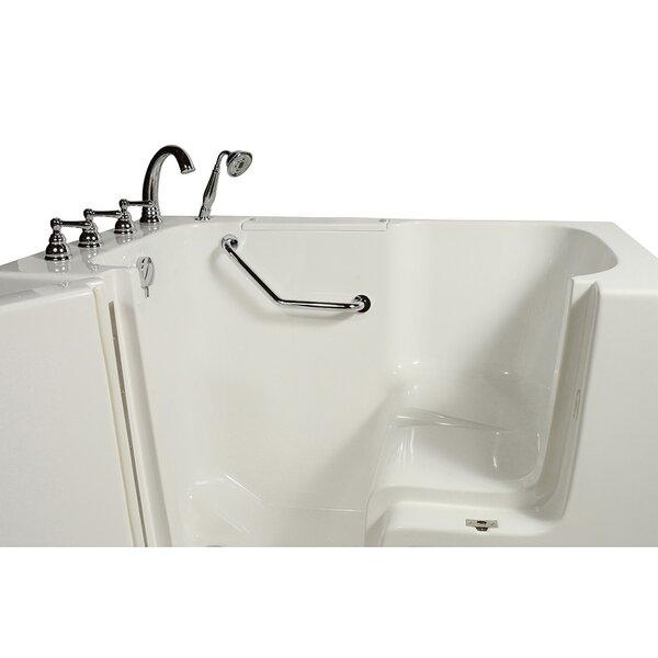 Wheelchair Access 51.5 x 40.25 Whirlpool Bathtub by Ella Walk In Baths