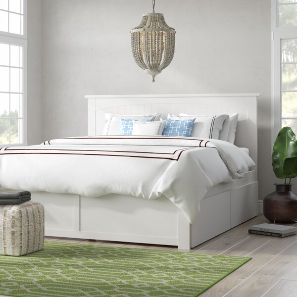 Graham King Storage Platform Bed By Beachcrest Home.