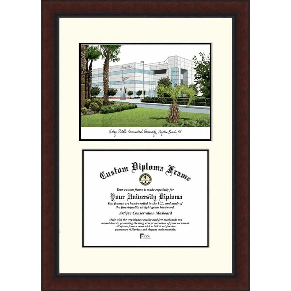 NCAA Embry Riddle University Legacy Scholar Diploma Picture Frame by Campus Images
