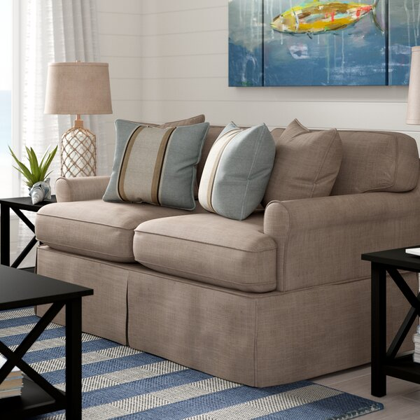 Coral Gables Slipcovered Loveseat by Beachcrest Home