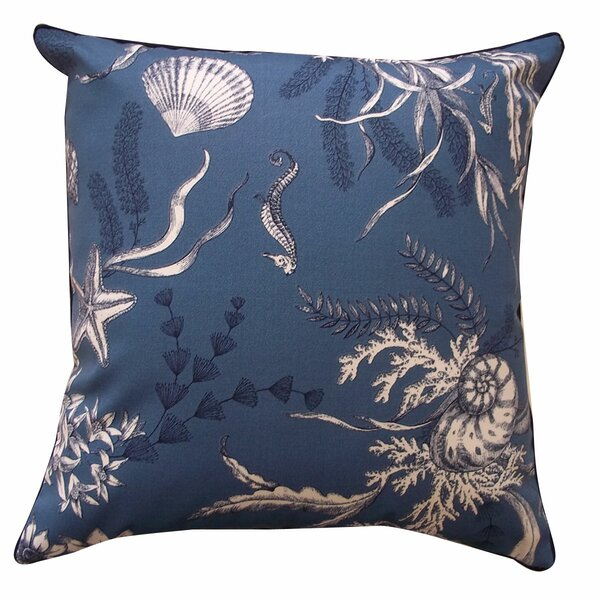 Sea Outdoor Throw Pillow by Jiti