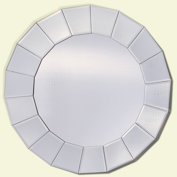 Round Wall Mirror by Yosemite Home Decor