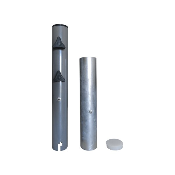 Steel In-Ground Umbrella Base by Greencorner
