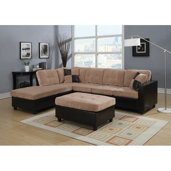 Charters Towers Modular Sectional with Ottoman by Red Barrel Studio