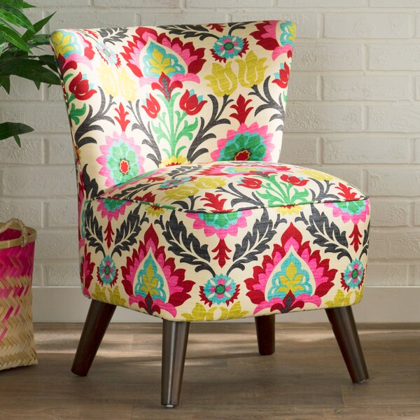 Crown Slipper Chair by Bungalow Rose