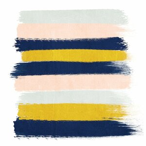 'Esther Stripes' Graphic Art Print on Canvas by East Urban Home