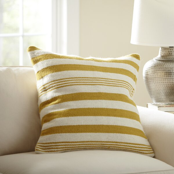 Edie Wool Pillow Cover by Birch Lane™