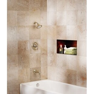 Find Icon Posi-Temp Pressure Balance Tub and Shower Faucet with Lever Handle ByMoen