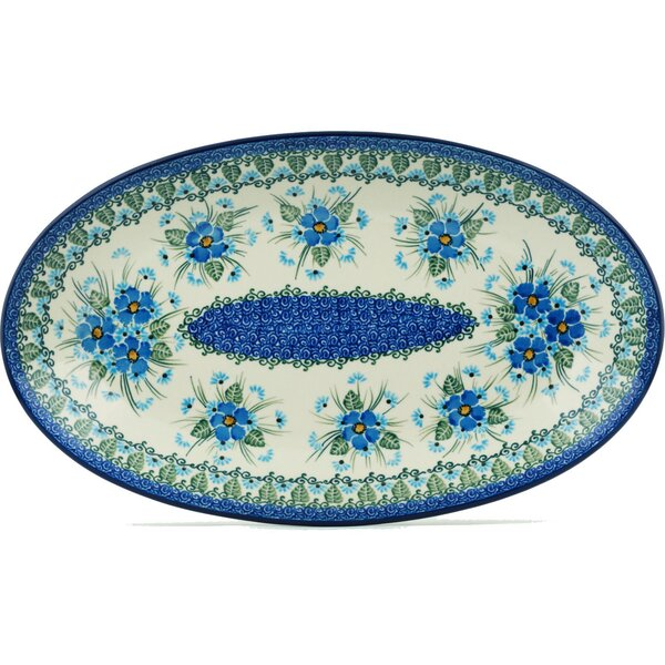 Forget Me Not Platter by Polmedia