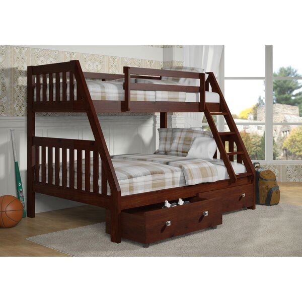 Belford Twin Over Full Bunk Bed with Drawers by Harriet Bee