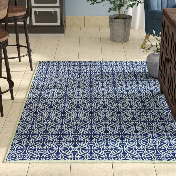 SeanPaul Hand Woven Navy Area Rug by Gracie Oaks